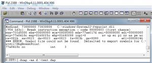 3.png Windbg抓取程序崩溃dmp文件的方法 技术知识