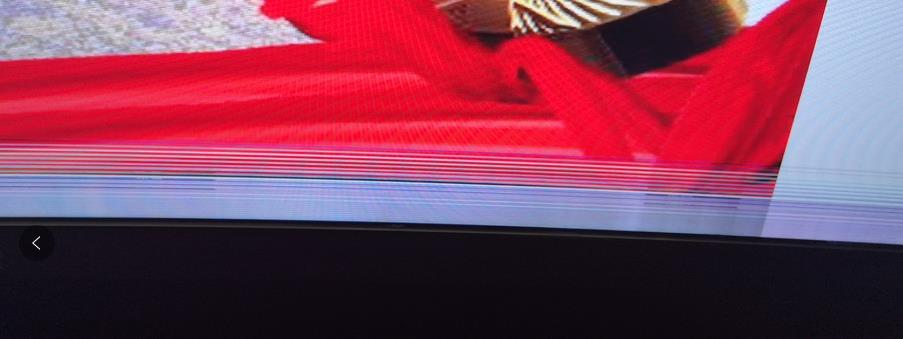 144HZ电竞显示器花屏的问题