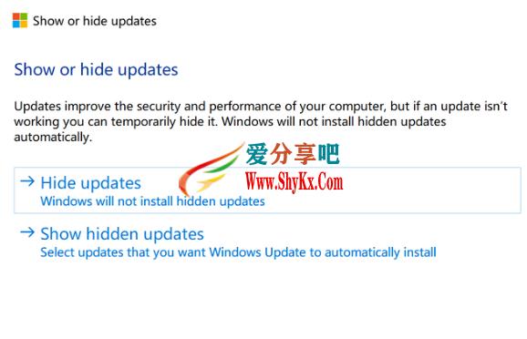 3.png Windows 10将强制删除Flash?_-教你屏蔽无法卸载的_KB4577586 技术知识
